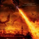 REIGN OF FIRE MOVIE POSTER CHRISTIAN BALE FREE SHIPPING