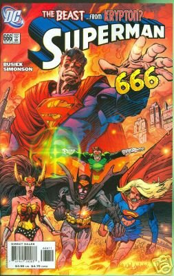 Superman #666 The Beast From Krypton? near mint comic