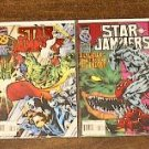 STAR JAMMERS 4 COMIC LOT RUN SET FOIL COVERS 1-4 (1996)