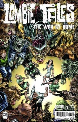 ZOMBIE TALES WAR AT HOME ONE SHOT CVR B near mint comic