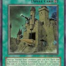 Yugioh ANCIENT GEAR CASTLE (SOI-EN047) 1st edition near mint card Super rare holo