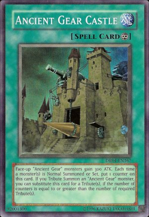 YU-GI-OH! YUGIOH ANCIENT GEAR CASTLE #SOI-EN047 unlimited edition near mint card