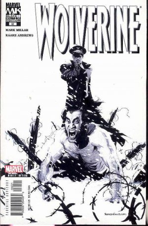 WOLVERINE BLACK & WHITE VARIANT COVER #32 MARVEL COMICS  near mint comic