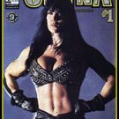 CHAOS COMICS CHYNA #1 WWF WWE WRESTLING near mint comic
