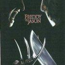 FREDDY VS. vs versus JASON POSTER 22x34 (2003)