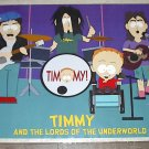 SOUTH PARK LORDS OF THE UNDERWORLD POSTER 22x34 new condition Free shipping