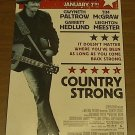 COUNTRY STRONG (free shipping) mini MOVIE POSTER GWYNETH PALTROW