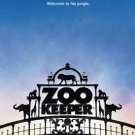 THE ZOOKEEPER MINI MOVIE POSTER Free shipping