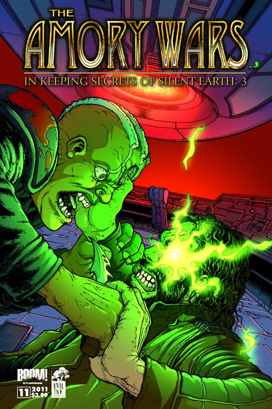 AMORY WARS KEEPING SECRETS OF SILENT EARTH 3 #11 (OF 12) near mint comic