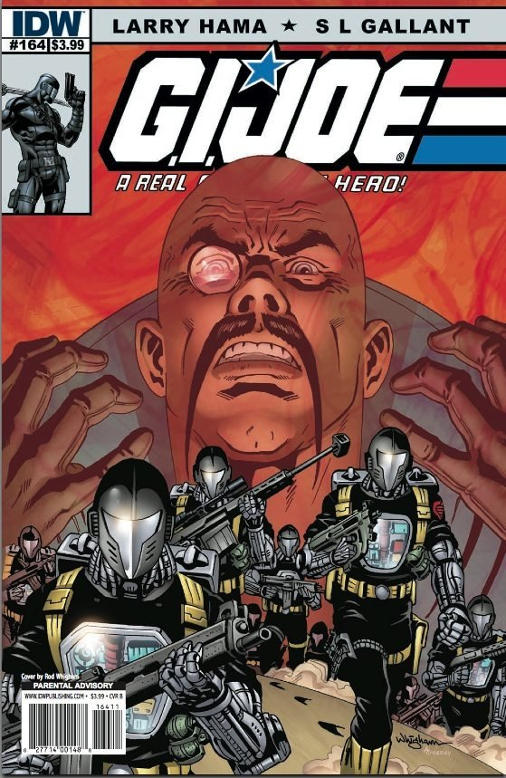GI G.I. Joe #164 near mint comic (2011)