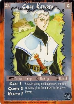 Rage Caias Katyrev (Legacy of the Tribes) near mint card