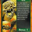 Rage Invocation of Hakaken (Legacy of the Tribes) near mint card