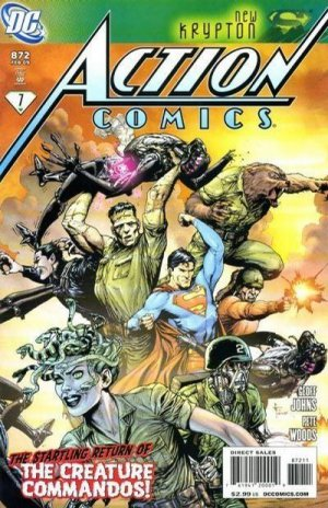 Action Comics #872 near mint comic