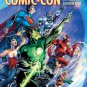 SAN DIEGO COMIC CON 2011 JIM LEE souvenir book - DC JUSTICE LEAGUE new condition