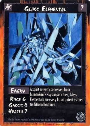 Rage Glass Elemental (The Umbra) near mint card
