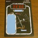 2011 SDCC Star Wars UNPUNCHED backing card TIE Fighter Pilot
