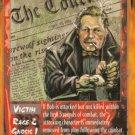 Rage Bob Goldstein, Ace Reporter (The Wyrm) near mint card