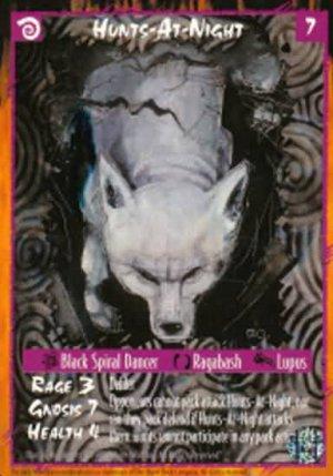 Rage Hunts-At-Night (The Wyrm) near mint card