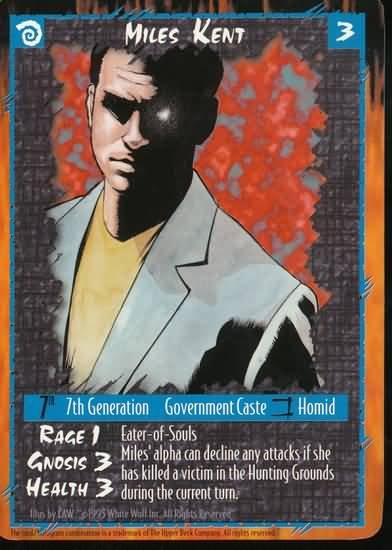 Rage Miles Kent (The Wyrm) near mint card