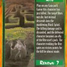 Rage Rite of the Black Spiral (The Wyrm) near mint card