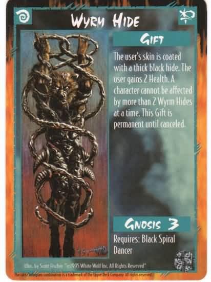 Rage Wyrm Hide (The Wyrm) near mint card
