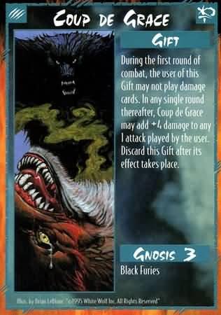 Rage Coup De Grace (Unlimited Edition) near mint card