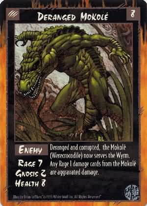 Rage Deranged Mokole (Limited Edition) near mint card