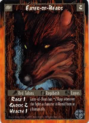 Rage Eater-of-Bears (Limited Edition) near mint card