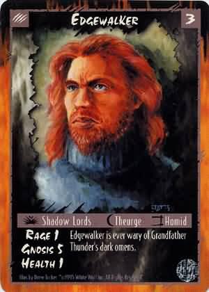 Rage Edgewalker (Limited Edition) near mint card