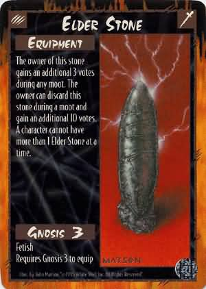 Rage Elder Stone (Limited Edition) near mint card