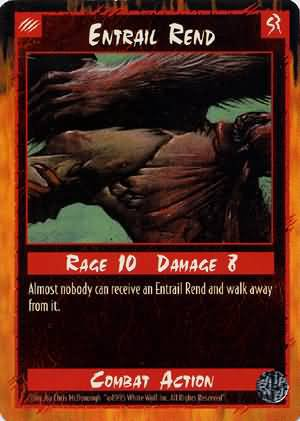 Rage Entrail Rend (Limited Edition) near mint card