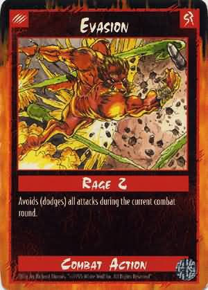 Rage Evasion (Limited Edition) near mint card
