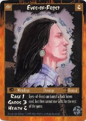 Rage Eyes-of-Frost (Limited Edition) near mint card