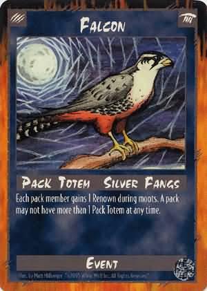 Rage Falcon (Limited Edition) near mint card