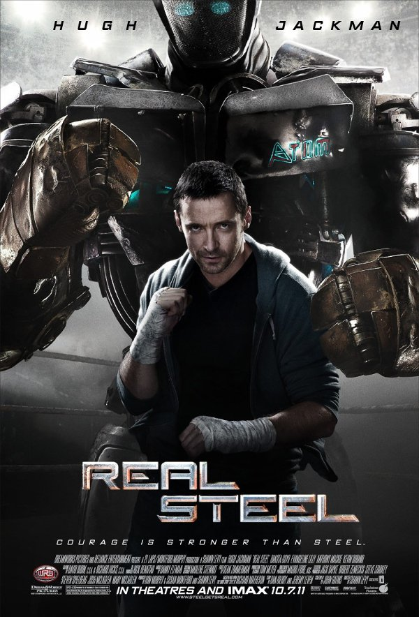 REAL STEEL MOVIE POSTER 27 x 40 inches HUGH JACKMAN d/s
