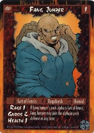 Rage Fang Jumper (Limited Edition) near mint card