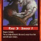 Rage Evade and Strike (Unlimited Edition) near mint card