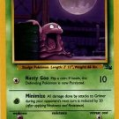 Pokemon Grimer (Fossil) 1st Edition #48/62 near mint card Common