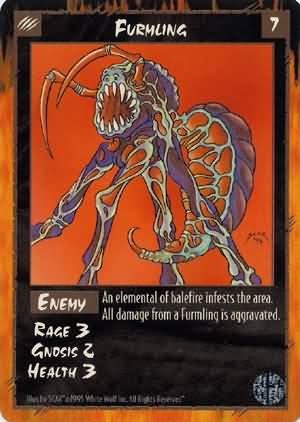Rage Furmling (Limited Edition) near mint card