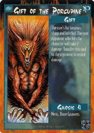 Rage Gift of the Porcupine (Limited Edition) near mint card