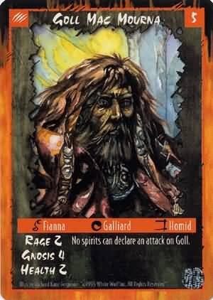 Rage Goll Mac Mourna (Limited Edition) near mint card
