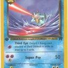 Pokemon Dark Golduck (Team Rocket) 1st Edition #37/82 near mint card uncommon