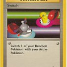 Pokemon Switch (Base 2) near mint card #123/130