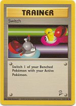 Pokemon Switch (Base 2) near mint card #123/130