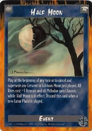 Rage Half Moon (Limited Edition) near mint card