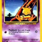 Pokemon Abra (Base Set One 1) Unlimited Edition #43/102 near mint card Common