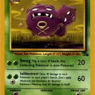Pokemon Weezing (Fossil) 1st Edition #45/62 near mint card Uncommon