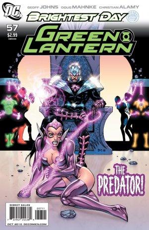 Green Lantern #57 near mint comic (2010) Vol. 4