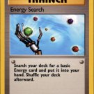 Pokemon Energy Search (Fossil) Unlimited Edition #59/62 near mint card Common