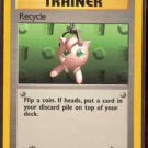 Pokemon Recycle (Fossil) 1st Edition #62/62 near mint card Common